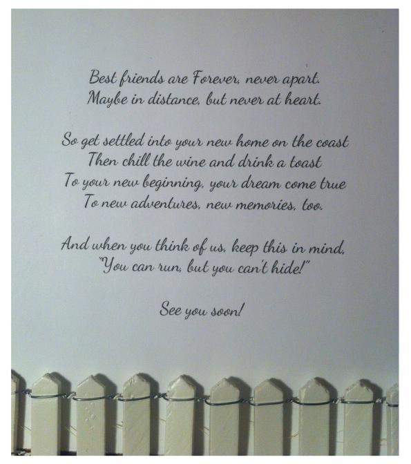 farewell card for wonderful friends globug ideasglobug ideas