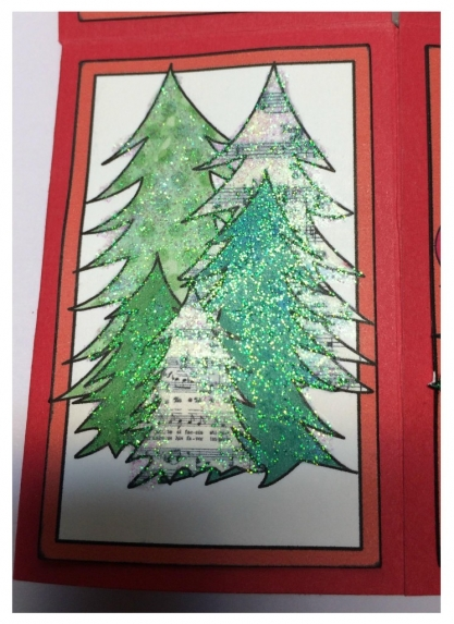 Isla's card--Trees panel
